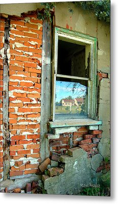 Abandoned Metal Print by Ron Haist