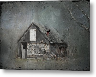 Abandoned Shack On Sugar Island Michigan Metal Print by Evie Carrier