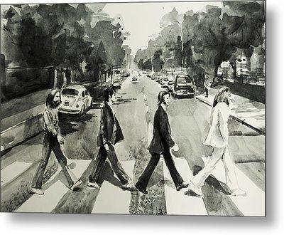 Abbey Road Metal Print by Bekim Art