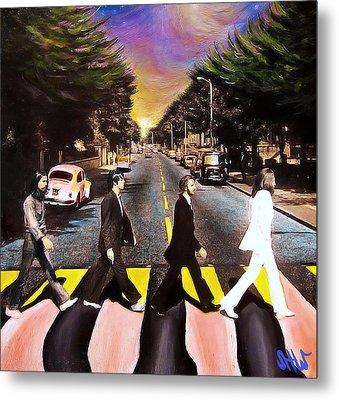 Abbey Road Metal Print by Steve Will