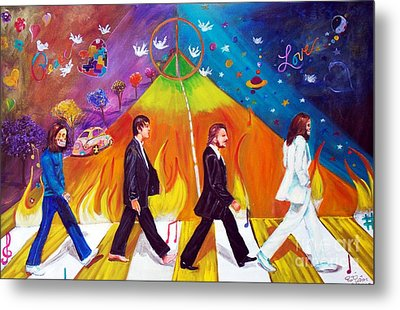 Abbey Road Metal Print by To-Tam Gerwe