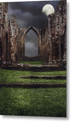 Abbey Steps Metal Print by Amanda And Christopher Elwell