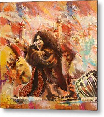 Abida Parveen Metal Print by Catf