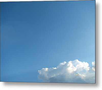 About A Cloud Metal Print by Wendy J St Christopher