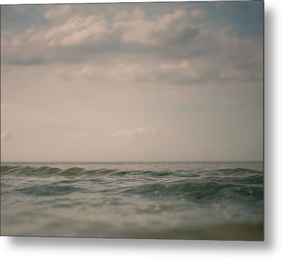Above 2 Metal Print by Violet Gray