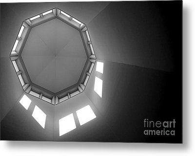 Above Metal Print by Olivier Le Queinec