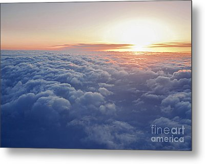 Above The Clouds Metal Print by Elena Elisseeva
