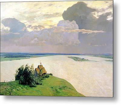 Above The Eternal Peace Metal Print by Isaak Ilyich Levitan