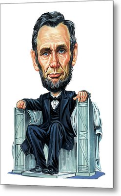 Abraham Lincoln Metal Print by Art