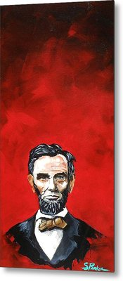 Abraham Lincoln Metal Print by Scott  Parker