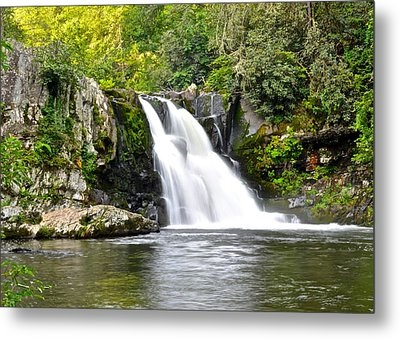 Abrams Falls Metal Print by Frozen in Time Fine Art Photography