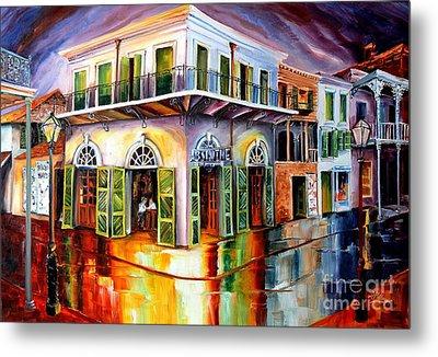 Absinthe House New Orleans Metal Print by Diane Millsap