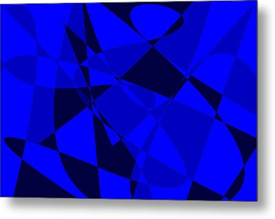 Abstract 154 Metal Print by J D Owen