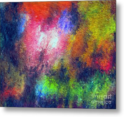 Abstract 296 Metal Print by John Krakora