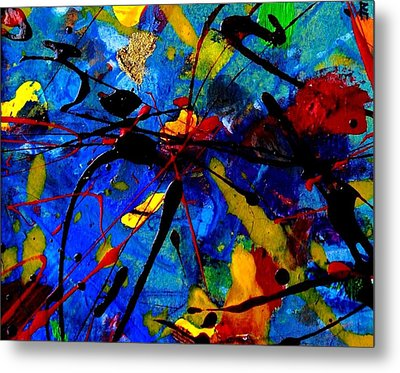Abstract 39 Metal Print by John  Nolan