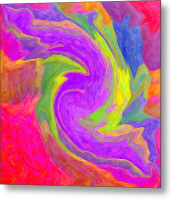 Abstract 44 Metal Print by Kenny Francis