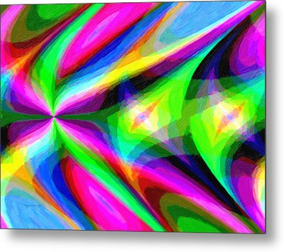 Abstract 45 Metal Print by Kenny Francis