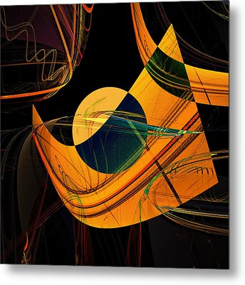 Abstract 45 Metal Print by Ricardo Szekely