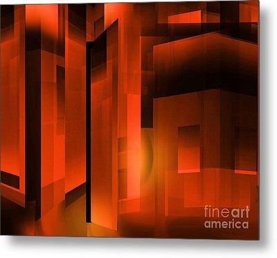 Abstract 500 Metal Print by John Krakora