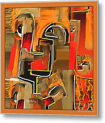 Abstract 973 Metal Print by Nedunseralathan R