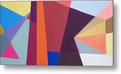 abstract angles I Metal Print by Diane Fine