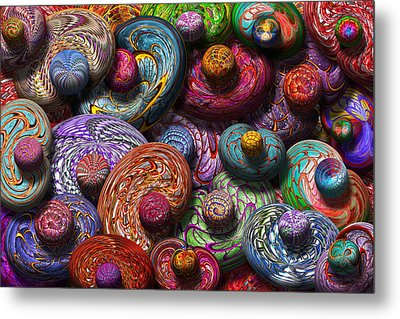 Abstract - Beans Metal Print by Mike Savad