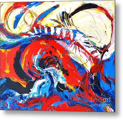 Abstract Expressionism No. 2 Metal Print by Patricia Awapara