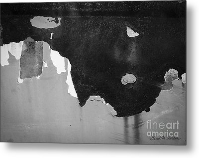Abstract Fender I Metal Print by Dave Gordon