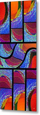Abstract Fusion 168 Metal Print by Will Borden