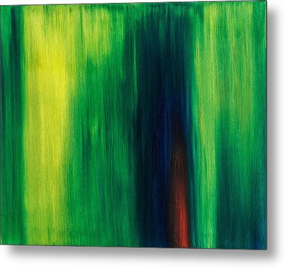 Abstract No 1 Initium Novum Metal Print by Brian Broadway