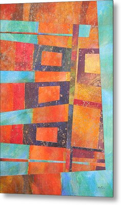 Abstract No.1 Metal Print by Adel Nemeth