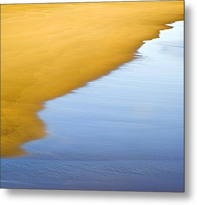 Abstract Seascape Metal Print by Frank Tschakert