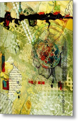 Abstract Tarot Art 009 Metal Print by Corporate Art Task Force