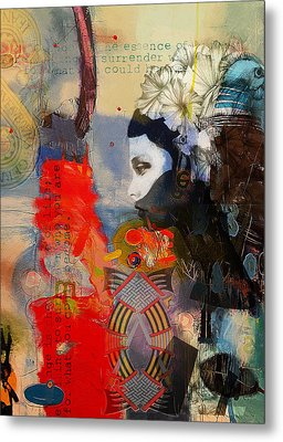 Abstract Tarot Art 011 Metal Print by Corporate Art Task Force