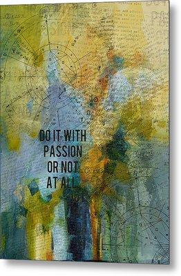 Abstract Tarot Art 020 Metal Print by Corporate Art Task Force