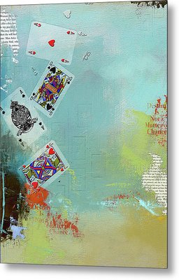 Abstract Tarot Card 009 Metal Print by Corporate Art Task Force
