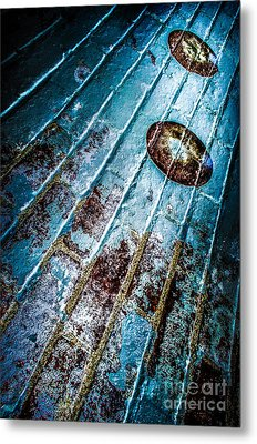 Abstracted Wall Metal Print by Michael Arend
