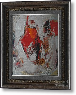 Abstraction Abstr2 Metal Print by Pemaro