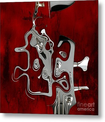 Abstrait En Fa Majeur - S02t01 Metal Print by Variance Collections