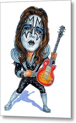 Ace Frehley Metal Print by Art