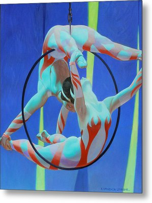 Acrobats Metal Print by Kevin Lawrence Leveque