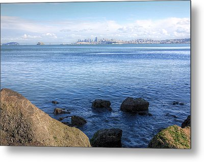 Across The Bay Metal Print by JC Findley