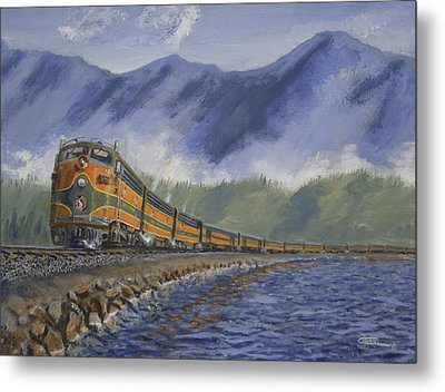 Across The Great Northwest Metal Print by Christopher Jenkins