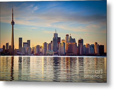 Across The Water Metal Print by Inge Johnsson