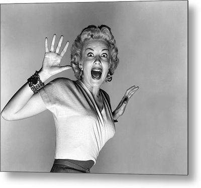 Actress Kathleen Hughes Metal Print by Underwood Archives