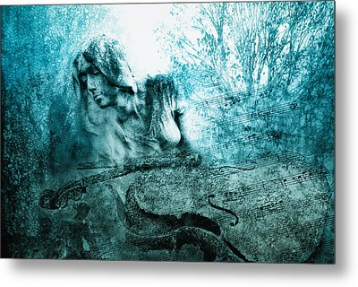 adagio for a broken dream II Metal Print by Joachim G Pinkawa