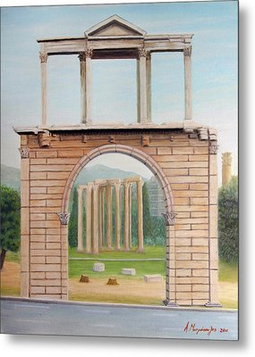 Adrian's Gate Metal Print by Anastassios Mitropoulos