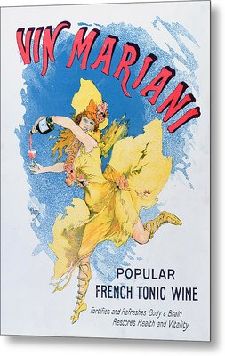 Advertisement For Vin Mariani From Theatre Magazine Metal Print by English School