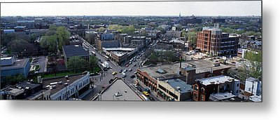 Aerial View Of Crossroad Of Six Metal Print by Panoramic Images