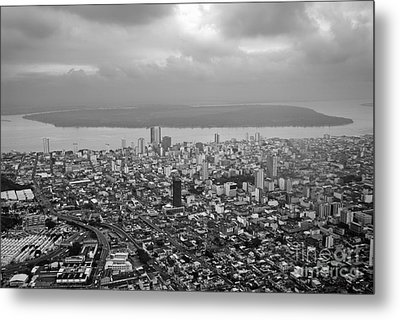 Aerial View Of Guayaquil City Metal Print by Sami Sarkis